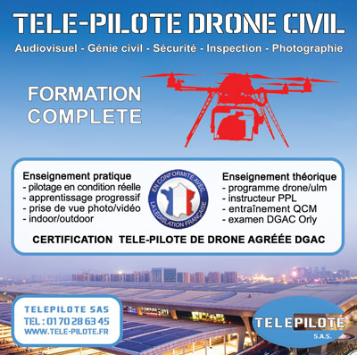 Formation Drone Civil